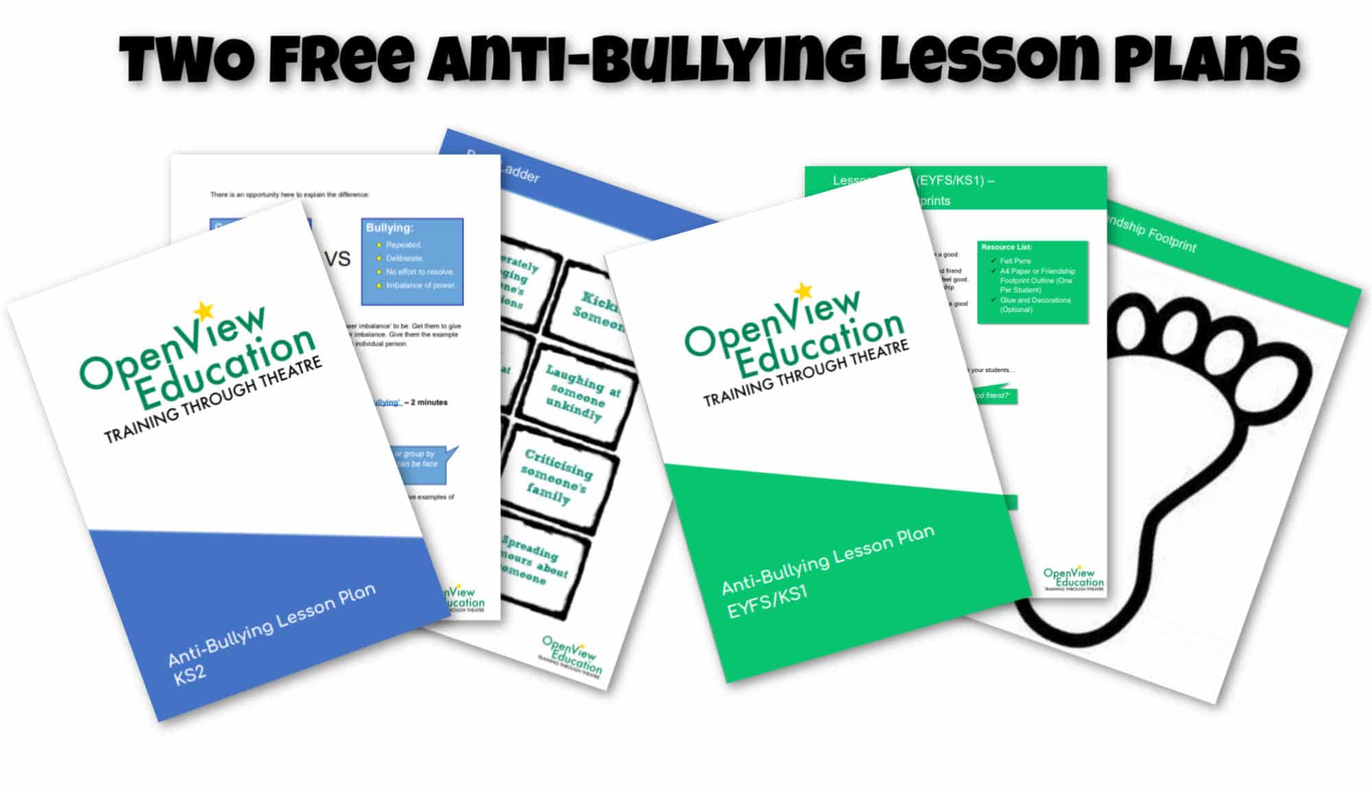 anti bullying lesson plans