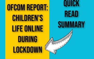 Children's Media Life During Lockdown – Ofcom Report Summmary