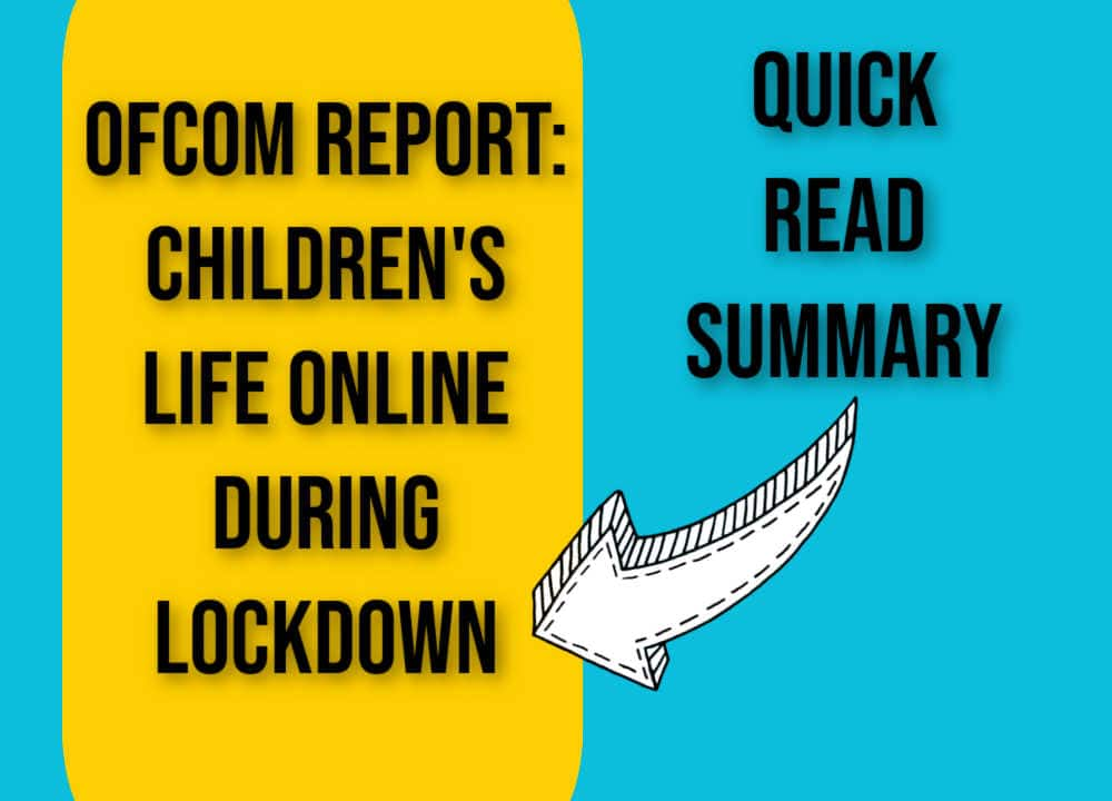 childrens life online lockdown