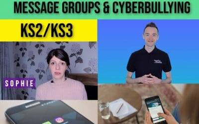 Message Groups and Cyberbullying – Internet Safety Press & Play Lesson