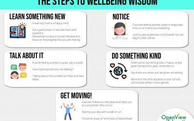 Wellbeing Poster for Schools