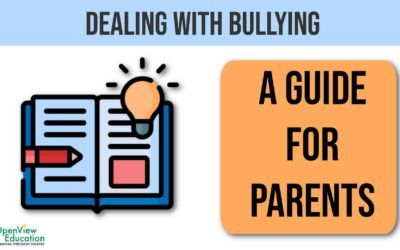 Dealing with bullying – a guide for parents
