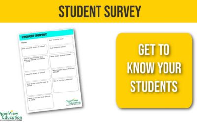 Student Survey for the Start of Term
